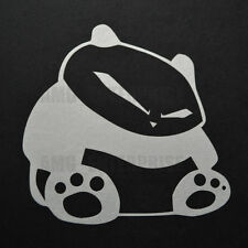 White Panda Decal Sticker Vinyl Badge for Fiat Grande Punto Sporting Evo Abarth