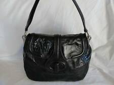 PRADA Glazed Calfskin Black Leather Purse - Excellent Condition