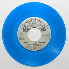JOHNNY MAESTRO & BROOKLYN BRIDGE Worst That Could Happen HARVEY Blue Wax #H806