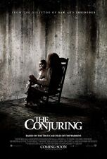 THE CONJURING movie poster  : 11.5 x 17 inches : PATRICK WILSON, VERA FARMIGA