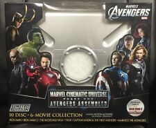 Marvel Cinematic Universe: Phase One - Avengers Assembled (Blu-ray Disc, 2013, 1