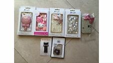 Iphone 4S Case Lot 5 Cases + Free Plugs Sale Clearance iPhone 4 Cover USA