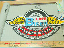 Free Biker Austria Jacket Patch (Bin2)