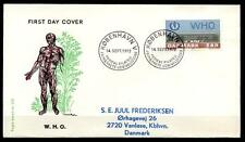 WHO. Europa-Kongreß. FDC-Brief. Dänemark 1972