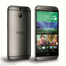 "Unlocked 5"" HTC One M8 4G LTE Smartphone Android 32GB GSM WIFI Cell Phone GREY"