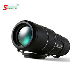UK 30X52 Dual Focus Zoom Optic Lentille verte Armoring télescope monoculaire voyage