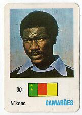 Football World Cup 1986 Portugese Pocket Calendar Thomas N'Kono Cameroon keeper