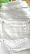 Karen Millen Supper Soft White Jeans Trouser RRP £75 UK 8 EU 36