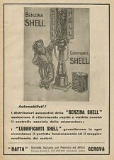 Y0220 Lubrificanti per automobili Shell - Pubblicità d'epoca - Advertising