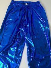 Shiny Wet Look Pvc Pants Glanz Men's Sexy Nylon Sport Retro Vintage M silky