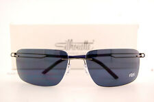 New Silhouette Sunglasses SUN TITAN PROFILE 8672 6231 Gray Polarized