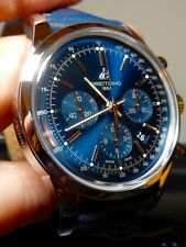 Breitling Transocean Limited Edition Chronograph Blue xx/2000 pieces made 99.99%