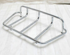 Motorcycle Top Rail Luggage Rack Trunk Case Carrier Rack Chrome Tour #LB12