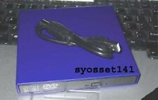 External USB Blue CD DVD ROM Drive for Acer Aspire One Laptop Computer