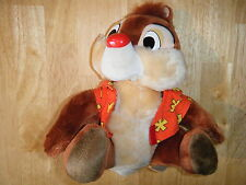 """DALE FROM CHIP N DALE RESCUE RANGERS PLUSH TOY 10 """" CUDDLY DISNEY"""