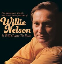 It Will Come To Pass-The Metaphysical Worlds - Willie Nelson (2014, CD NEUF)