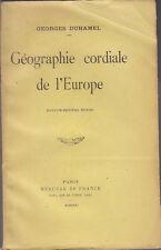 C1 Georges DUHAMEL Geographie Cordiale de l Europe 1931 PAYS BAS GRECE FINLANDE