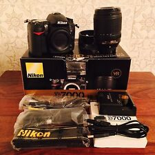 Nikon D7000 Plus 18-140 3.5-5.6 AF-S VR ED Lens Boxed With All Accessories
