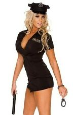 NEW WOMENS LADIES SEXY DELUXE POLICE COSTUME HEN DOO FANCY DRESS PARTY OUTFIT