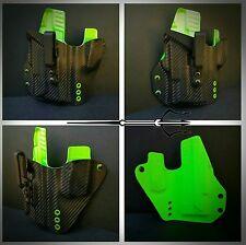 Glock 19 23 Light bearing TLR1 Any Colors Aegean Kydex IWB holster Veteran Made