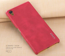 X-Level Luxury Vintage Genuine Leather Soft Slim Case Cover For Sony Xperia S001