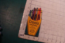 8-pack of CRAYOLA crayons, slightly used, 19cents box