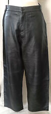 NEW Prestige MENS LEATHER PANTS BLACK