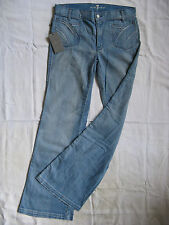 7 SEVEN for all MANkiND Damen Blue Jeans Stretch W28/L34 regular fit flare leg