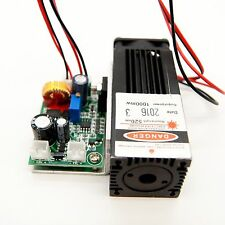 520nm 1000mW Green Laser Module/12V/Analouge Modulation/Built by Nichia NDG7475T
