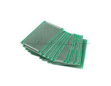 Double Side Prototype PCB Tinned Universal Breadboard 5x7 cm 50mmx70mm FR4