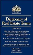 Dictionary of Real Estate Terms, Sixth Edition (Barron's Business Dictionaries)