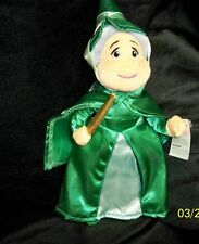 Fairy Godmother Plush Doll Toy, Green, from Cinderella & Disney,  10 in. tall