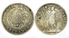 5 Francs L'An 10 (1802) Gaule Subalpine. Piemonte (Italia). Argent. Napoléon I°