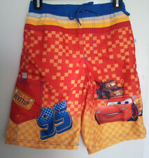 Boys-Size-9-10-Swim-Trunks-Disney-Cars-Lightning-Mcqueen-95-Tow-Mater-Beach-Pool