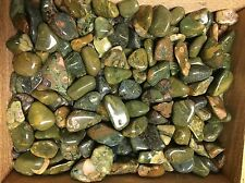 1lb Wholesale Tumbled Rhyolite Rainforest Jasper Polished Stones Crystals Bulk