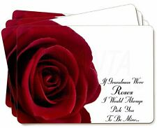 'If Grandma's Were Roses' Picture Placemats in Gift Box, GRA-R4P