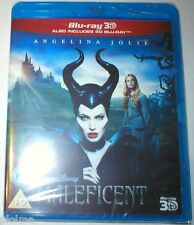 MALEFICENT Brand New 3D BLU-RAY (and 2D) 2-Disc Region-Free Walt Disney Movie