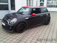 Rimstock Jet blackred 17 Zoll Winterräder + Hankook Mini Cooper Works