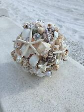 Xo Bouquets 21 Inch Bride Bouquet Beach Wedfing Sea Shells