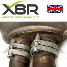 BMW E46 M3 Rusted Exhaust Flange Flanges Brackets Repair Replacements Fix Kit