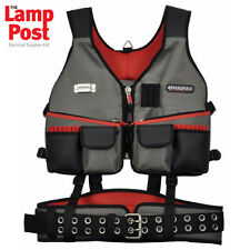 CK MAGMA BUILDERS RIG - VEST WITH COMFORT PADDED BELT MA2728 NEW
