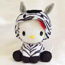 Hello Kitty stuffed plush doll Zebra Horse zodiac sanrio japan limited