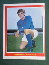 JOHN O'ROURKE - IPSWICH TOWN  -  1 PAGE PICTURE - CLIPPING /CUTTING