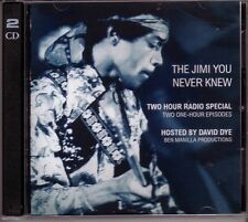 "JIMI HENDRIX ""The Jimi You Never Knew"" US Radio Promo 2CD Set RAR"