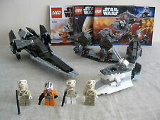 Lego 7915, 7957 & 8083 Star Wars Imperial V wing, Sith Nightspeeder & Trooper