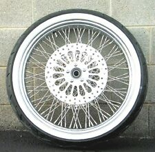 21 3.5 80 Spoke Front Wheel 120/70 WWW Tire Package 2008-2016 Harley Touring ABS
