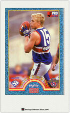 1996 Tip Top Hyfibe AFL Heroes Card #32 Scott Wynd (Bulldogs)
