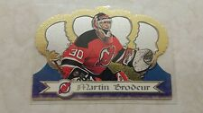 1999-00 Crown Royal Martin Brodeur Card 78