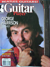 Guitar Player Magazine November 1987 The Beatles George Harrison