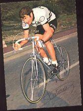 JOSE CATIEAU cyclisme Signée PEUGEOT autographe ciclismo Tour de France cycliste